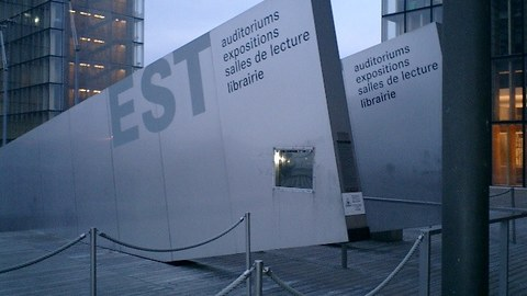 Bibliothèque Nationale in Paris
