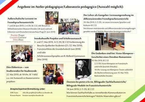 Romanistik Lerntandem Atelier pédagogique_2