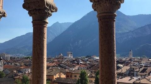 Blick auf Trento
