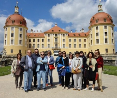 Mitarbeiterinnen und Mitarbeiter des EU-Projekts ENBaCH
