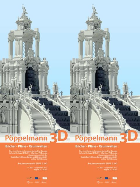 Ausstellungsplakat Pöppelmann 3D
