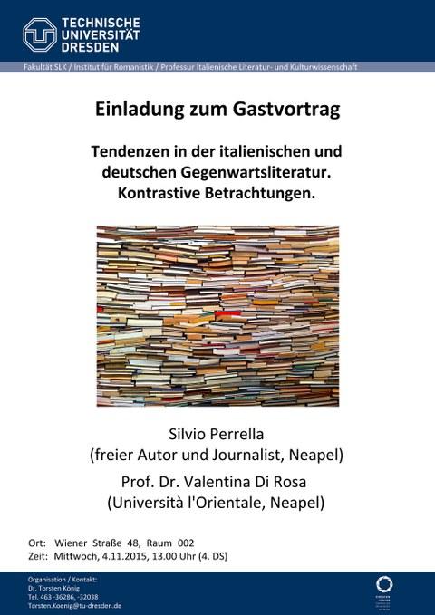 Plakat Gastvortrag Perrella_DiRosa