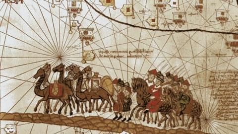 Marco Polos Karawane zieht Richtung Indien