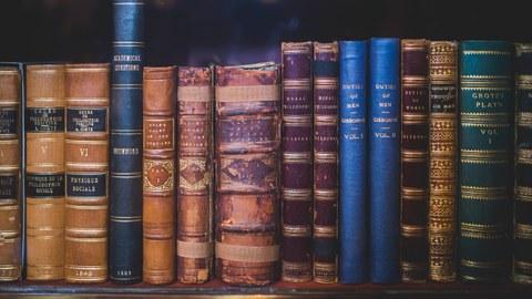 Bunte Buchreihe