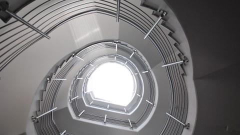 Treppenaufgang Wiener Straße 48