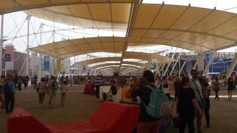 EXPO Hauptachse