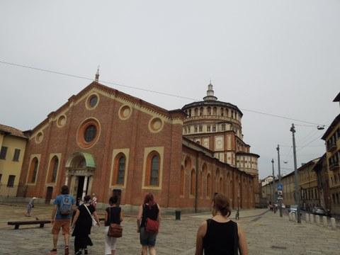 Santa Maria delle Grazie: Außenansicht