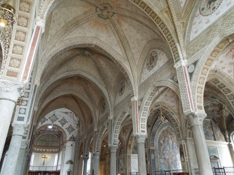 Santa Maria delle Grazie: Innenansicht