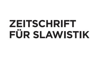 Zeitschrift für Slawistik