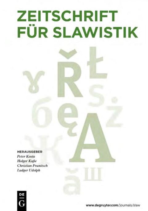 Bild Zeitschrift für Slawistik
