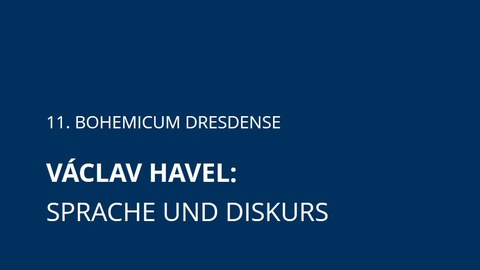 Bild Ankündigung Havel