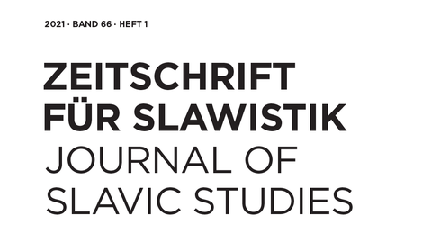 Zeitschrift für Slawistik 2021