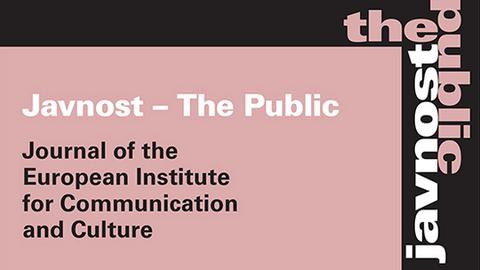 Bild Javnost The Public Journal