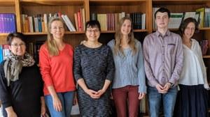 Mitarbeiter und Mitarbeiterinnen der Professur für Slavische Literaturwissenschaft