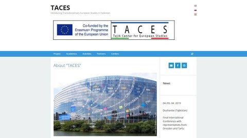 TACES Projektseite