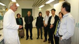 Besuch einer vietnamesischen Forschergruppe