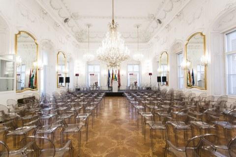 Ballsaal der Andrassy-Universität