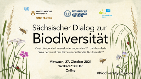 Promotion of a seminar of Saxon Dialogue on Biodiversity