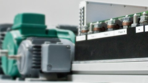 Converter and electrical machines