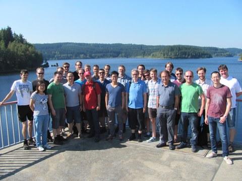 Gruppenbild Doktorandenseminar 2016