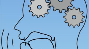 Logo der Professur für Sprachtechnologie und Kognitive Systeme