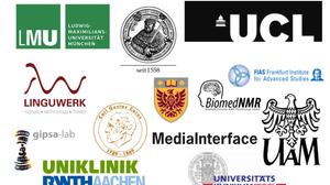 Zusammenstellung von Logos der Partnereinrichtungen