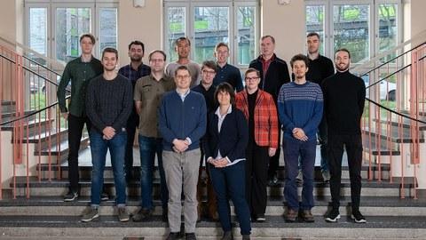 Gruppenbild der Beschäftigten der Professur