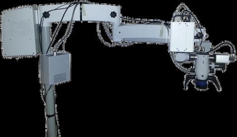 Mikroskop mit HSI-Kamera