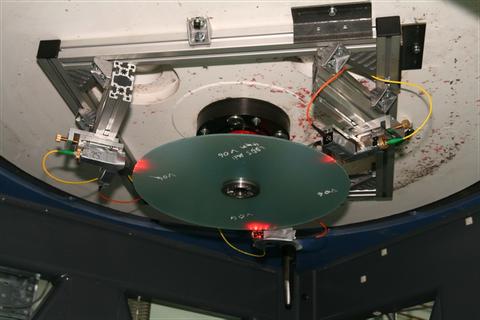 3 Sensoren messen die dynamische Deformation