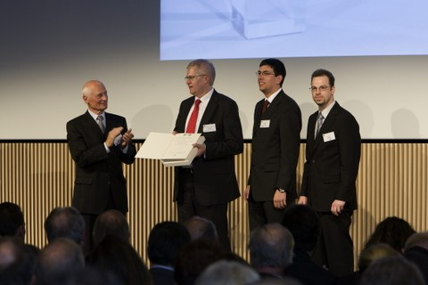 Awarding ceremony of the Berthold-Leibinger Innovation Prize