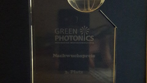 Glasskulptur GreenPhotonics
