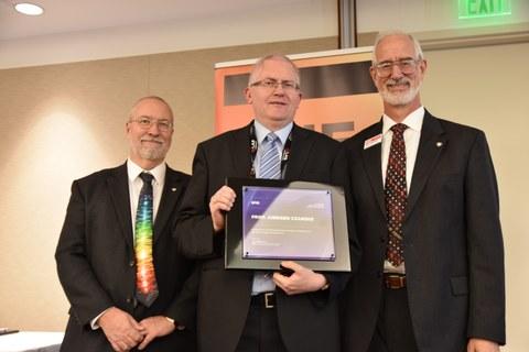 Übergabe SPIE Fellow Auszeichnung