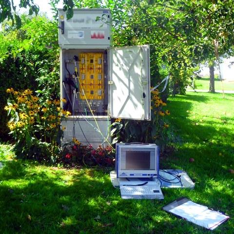 Kabelkasten mit Power-Quality-Messung
