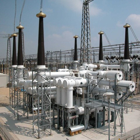 420 kV Gasisolierte Schaltanlage im Freien