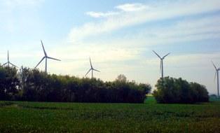 Windenergieanlagen in der Natur