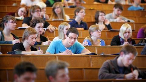 Hörsaal Studenten