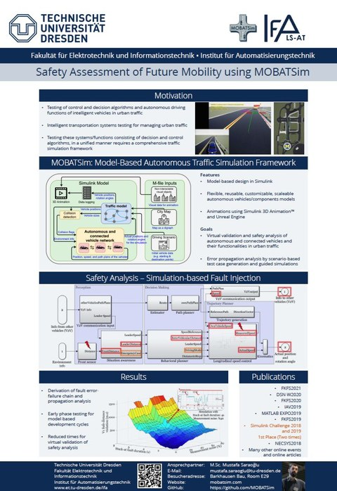 Model-Based Autonomous Traffic Simulation Framework