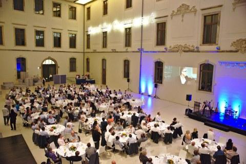 Gala Dinner der ESSCIRC / ESSDERC Konferenz