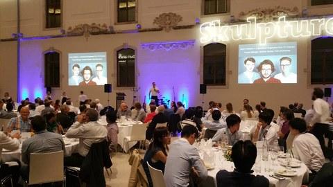 Gala Dinner der ESSCIRC / ESSDERC Konferenz im Albertinum Dresden