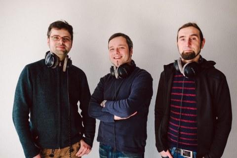 StartUp Team: Wolfram Eberius, Martin Spindler, Matthias Lippmann