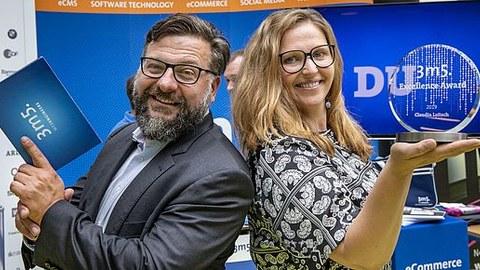 Foto von Michael Eckstein und Claudia Loitsch