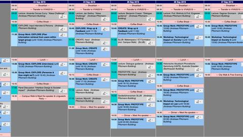 VIVA2019-Agenda