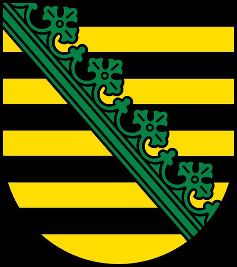 Sächsisches Landeswappen