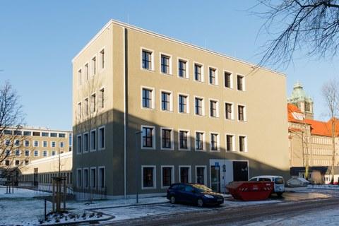 ZF Bau Gebäude