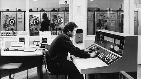 Rechenzentrum 70er Jahre