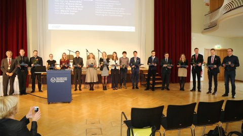 Preisträger der Lohrmann-Medaille 2019, Simon Jantsch 8. von re