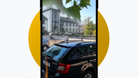 Screenshot AR-App Geheim!