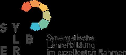 Logo TUD-Sylber mit Textmarke Synergetische Lehrerbildung im exzellenten Rahmen