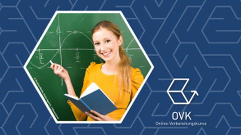 Flyer Online-Vorbereitungskurse