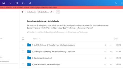 Dateiablage (Nextcloud)